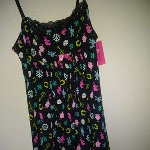 Betsy Johnson Multi color cute nightgown